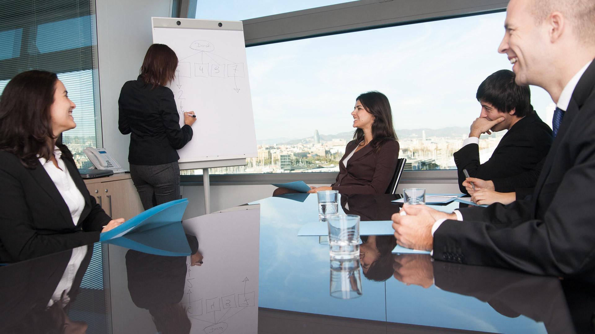 Schulung bei Unternehmen